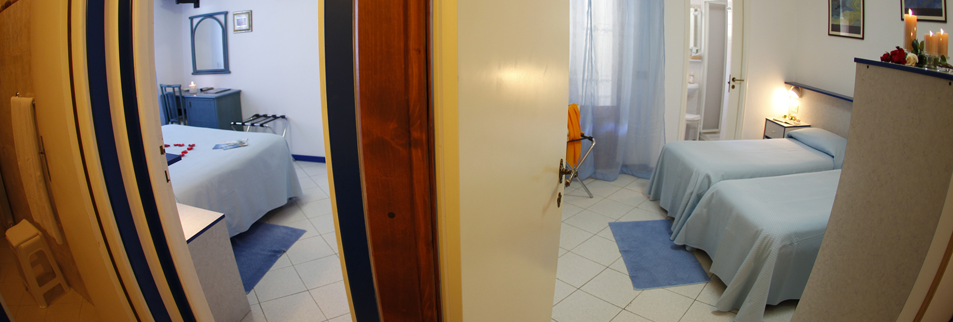 Room Family Blue Hotel Galli