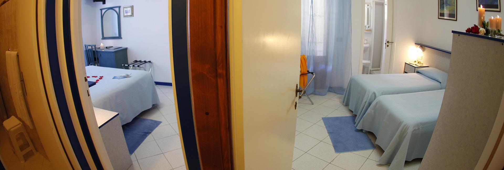 Zimmer Familie Blau Hotel Galli