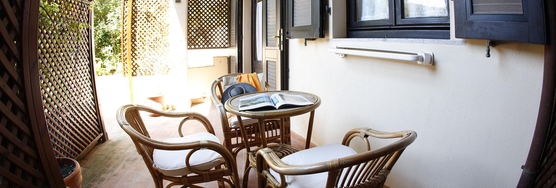 Chambre Portico Hotel Galli